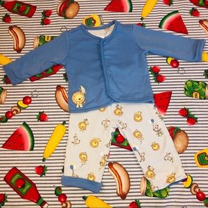 Lion & Monkey Party Matching/Reversible outfit